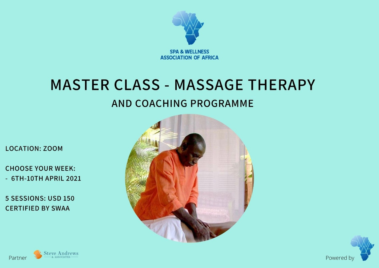 Master Class – Massage Therapy & Coaching Programme