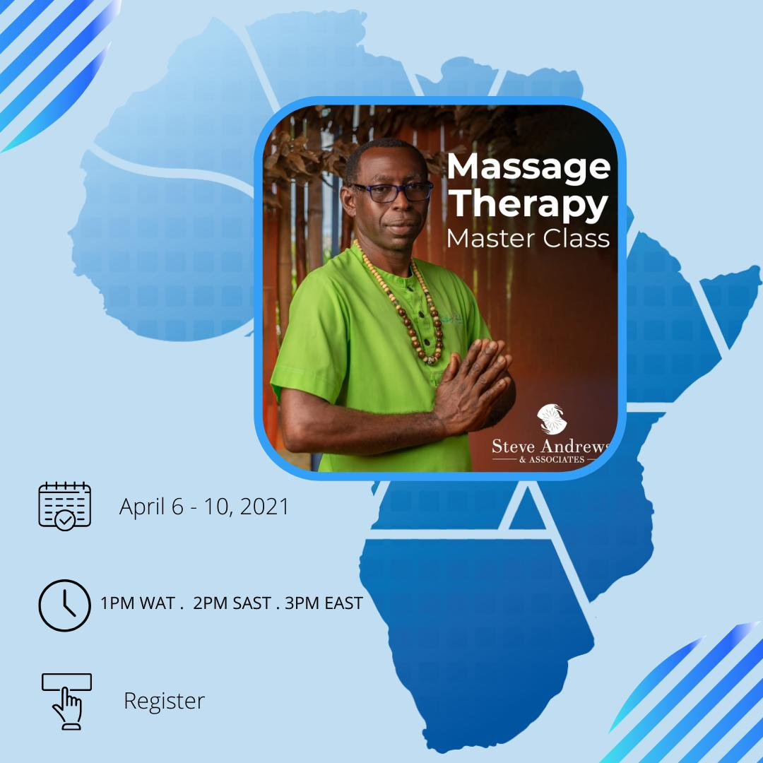 MASTER CLASS MASSAGE THERAPY