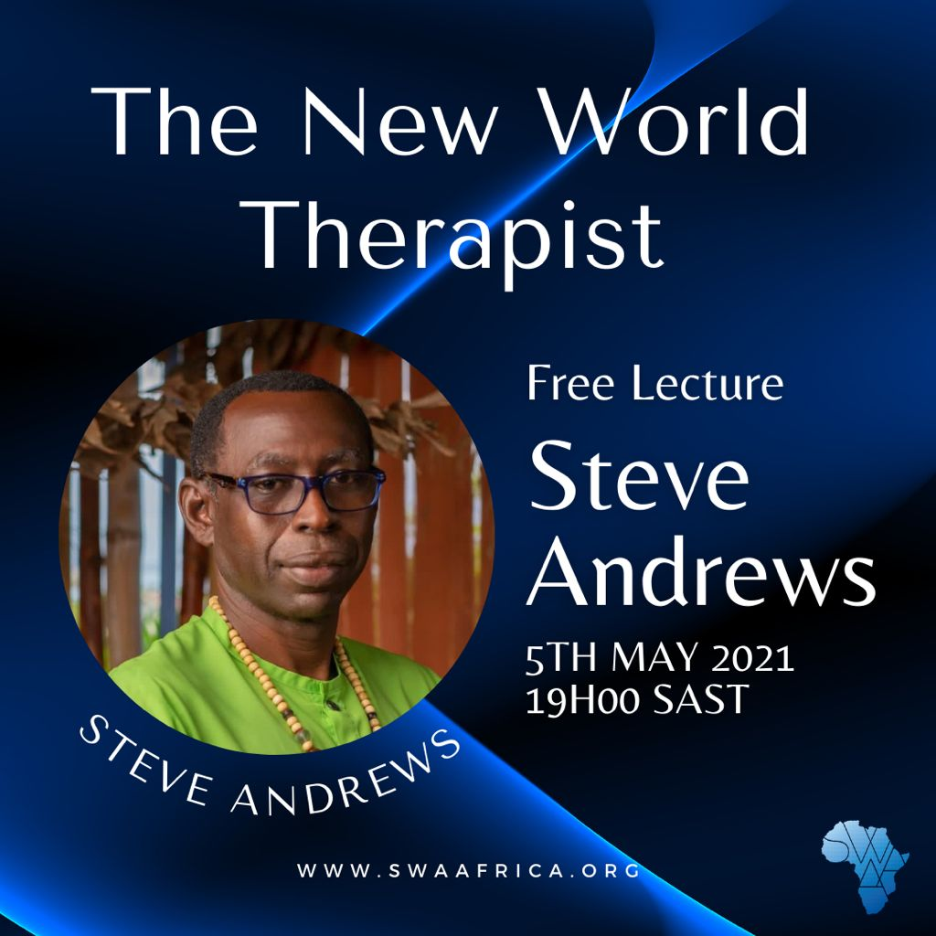 The new world Therapist with Steve Andrews