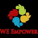 W E logo final
